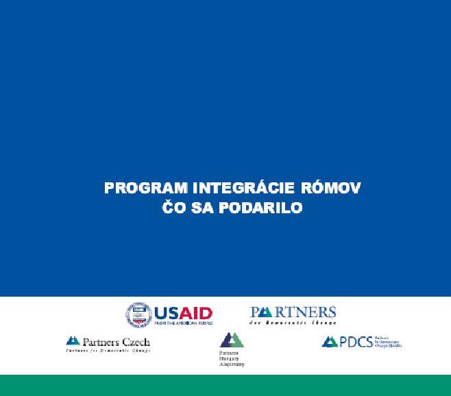 Čo sa podarilo - Program integrácie Rómov
