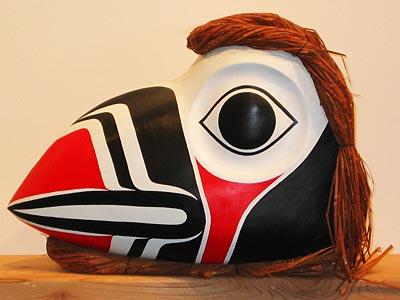 Maska, ktorá prechádza do kože
