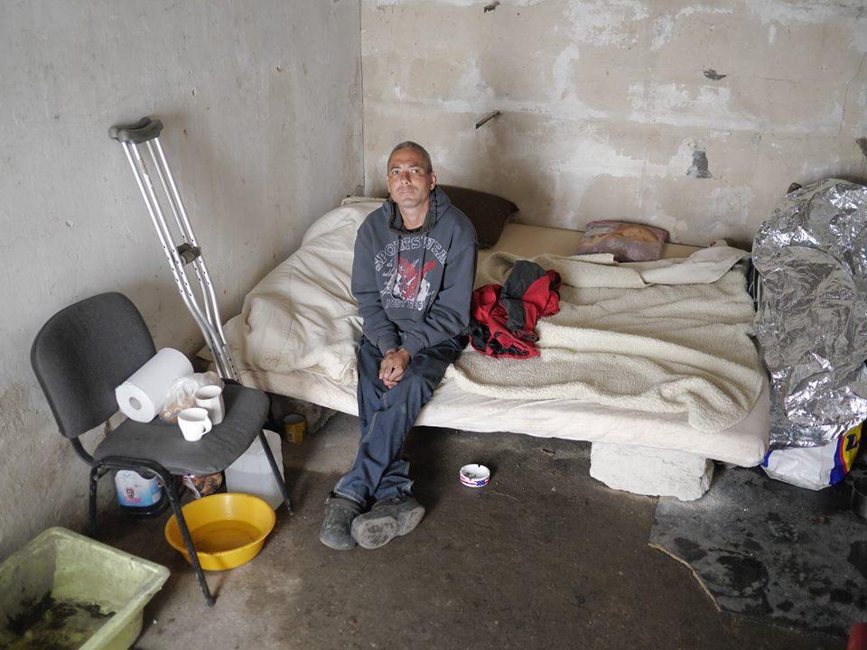 O ľuďoch bez domova z garáží na Zátiší