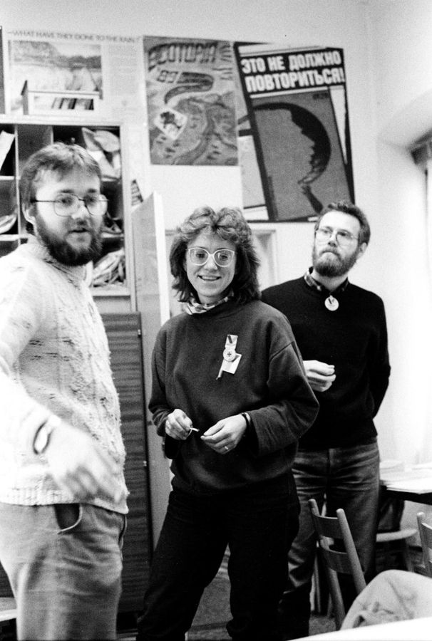O nežnej revolučnej poradni v Novembri 1989: Desať dní na Markušovej 2